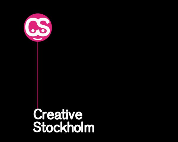 Creative Stockholm logga sv bak