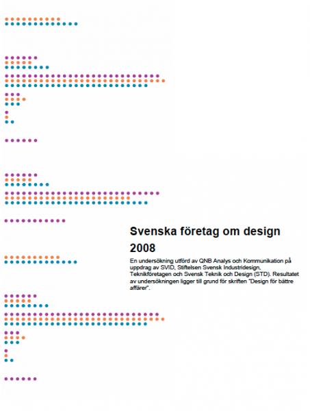 Svenska företag om design