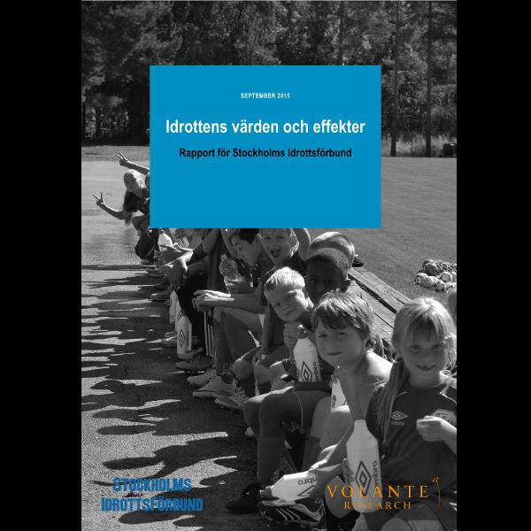 Ny rapport - Idrottens värden och effekter