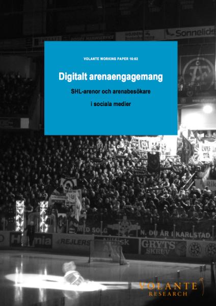 Digitalt arenaengagemang SHL