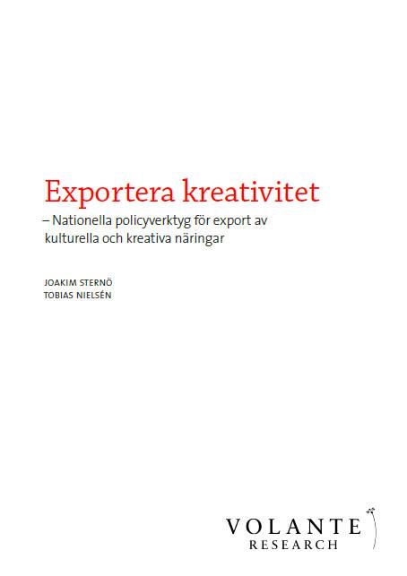 Exportera kreativitet